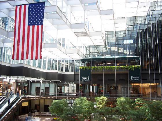 "Downtown Minneapolis IDS Center in Skyway. Image by J. Stephen Conn <a href=https://flic.kr/p/5o1xqJ target=""_blank""> J. Stephen Conn/flickr</a>"