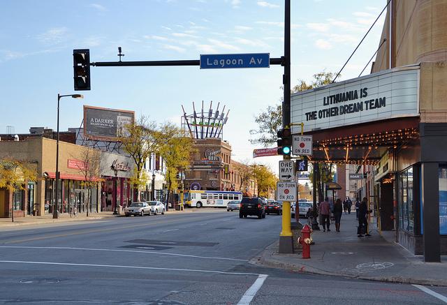 "Shops in Calhoun Square in Uptown, Minneapolis. Image by <a href=""https://flic.kr/p/dmWxwS"" target=""_blank""> jpellgen/flickr</a>"