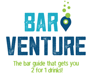 The Bar Guide That Gives You 2 For 1 Drinks!