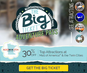 Bloomington CVB Big Ticket Adventure Pass