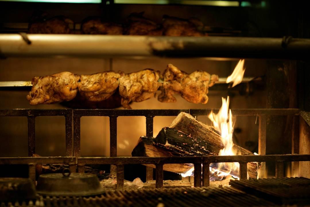 """Chicken Rotisserie at FireLake. Image by <a href=""""http://www.firelakerestaurant.com/"""" target=""""_blank"""">FireLake</a>"""