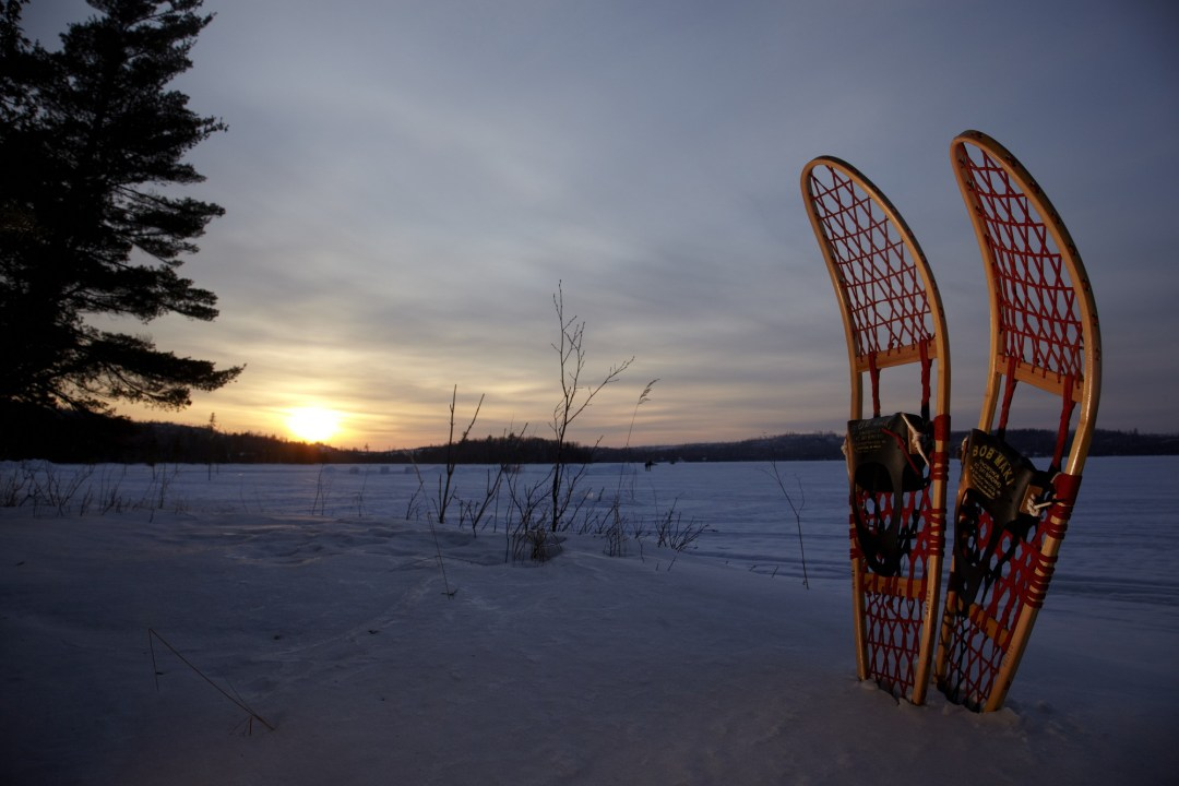 Snowshoes Photo by Todd Buchanan/Greenspring Media