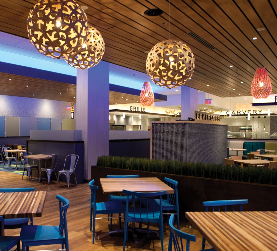 "Tradewinds Dining Area. Image by <a href=""http://www.ticasino.com/"" target=""_blank"">Treasure Island</a>"