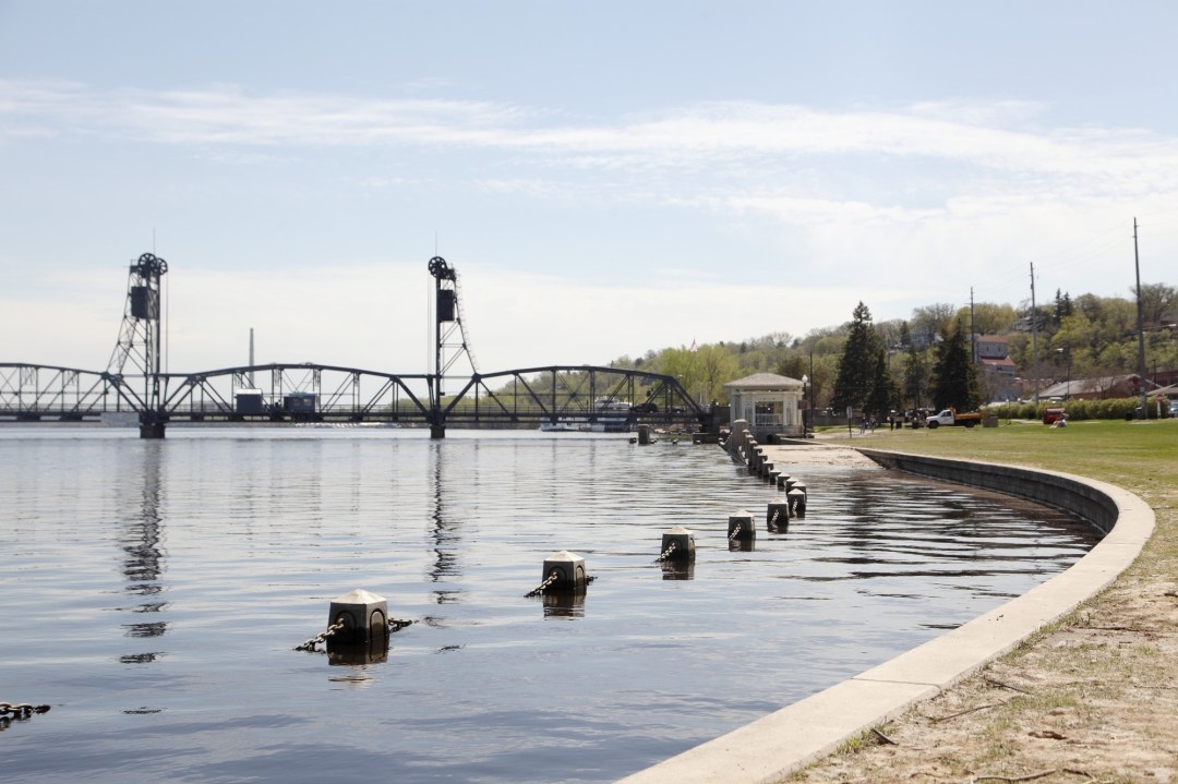 St. Croix River runs through Stillwater