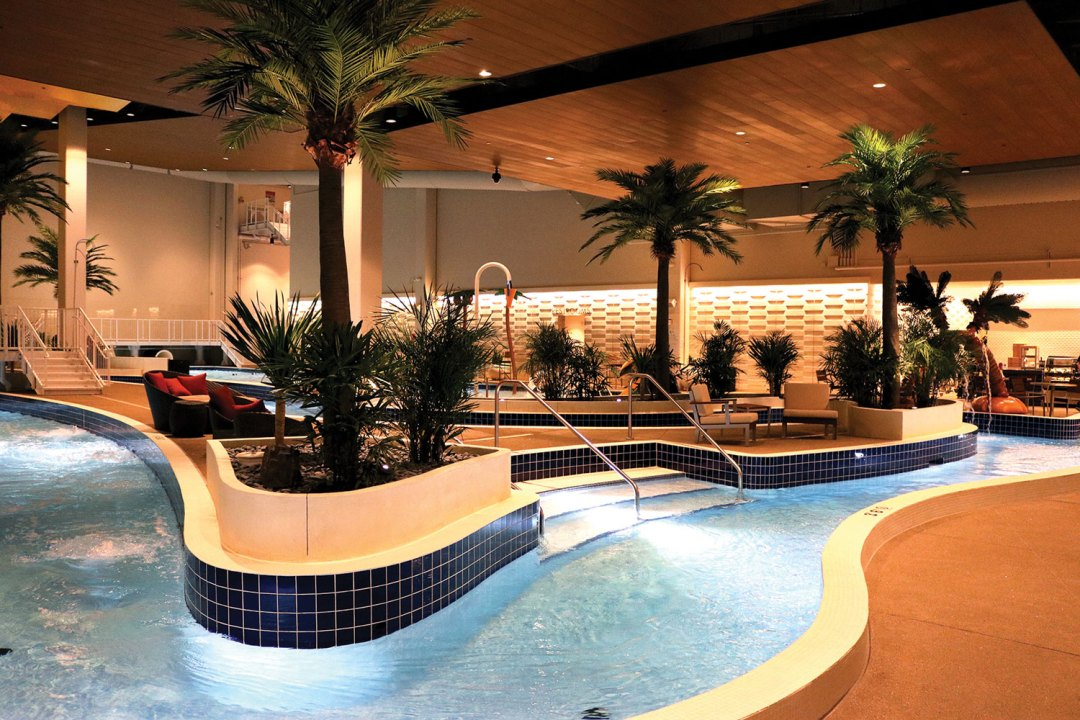 """The Lagoon's Lazy River. Image by <a href=""""http://www.ticasino.com/"""" target=""""_blank"""">Treasure Island</a>"""