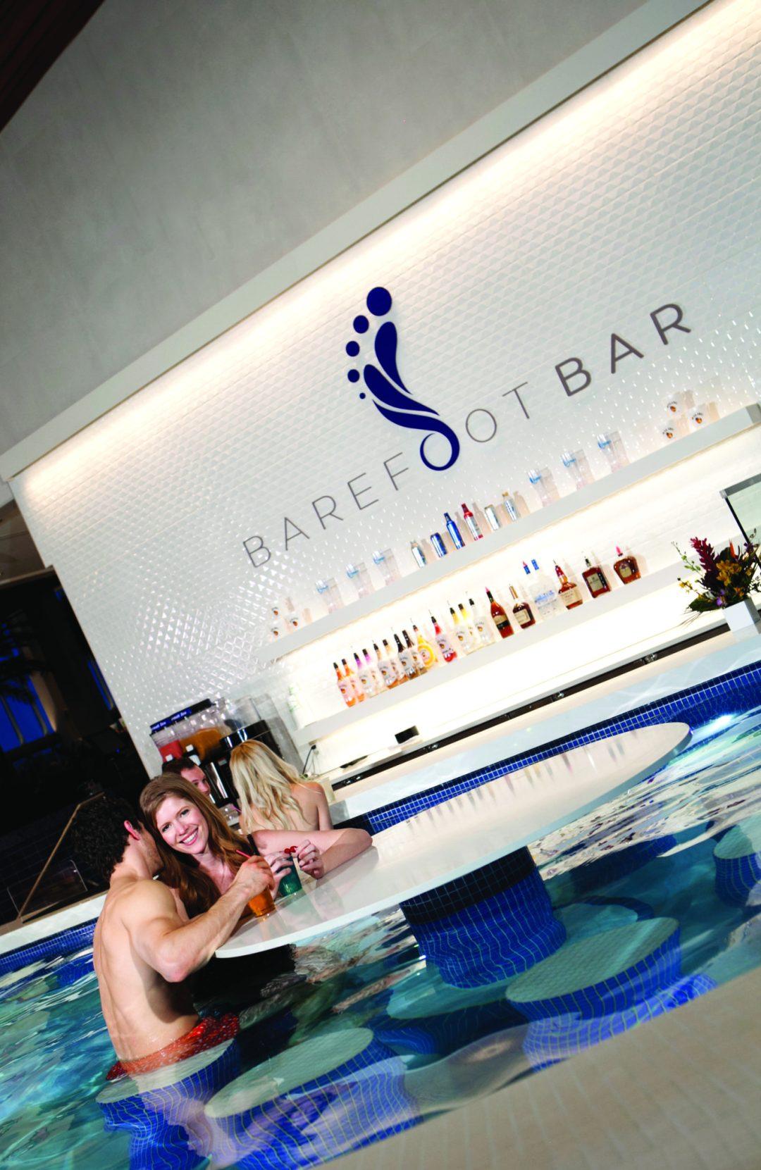 "Barefoot Bar. Image by <a href=""http://www.ticasino.com/"" target=""_blank"">Treasure Island</a>"