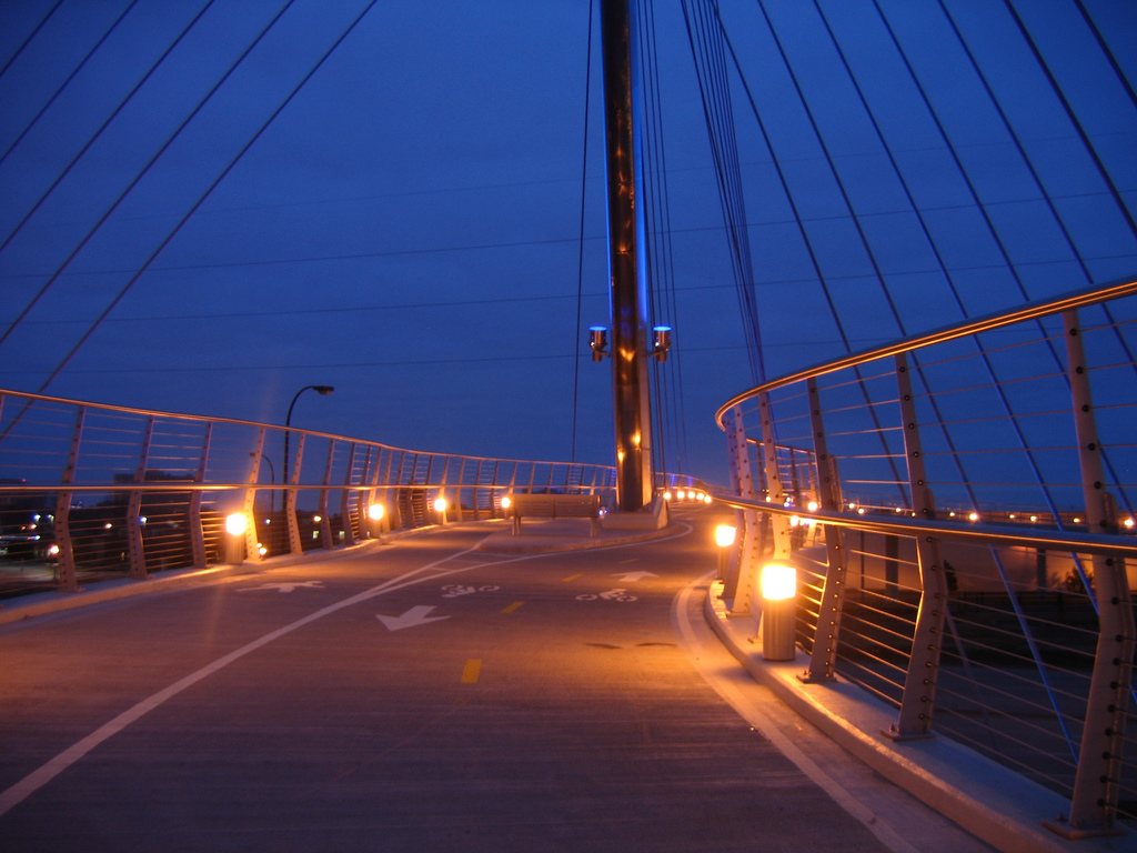 """Greenway at Night. Image by <a href=""""https://flic.kr/p/4E8GSS"""" target=""""_blank"""">npGreenway/flickr</a>"""
