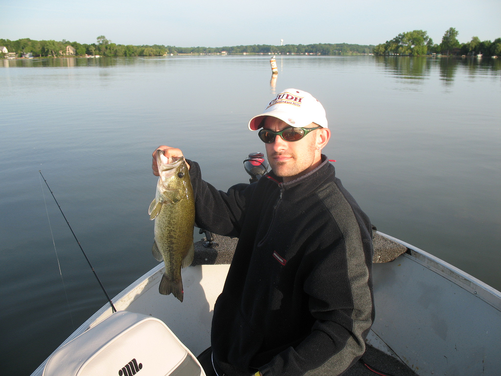 "Bass Fishing on Lake Minnetonka. Image by <a href=""https://flic.kr/p/2bNx6f"" target=""_blank"">jpellgen/flickr</a>"
