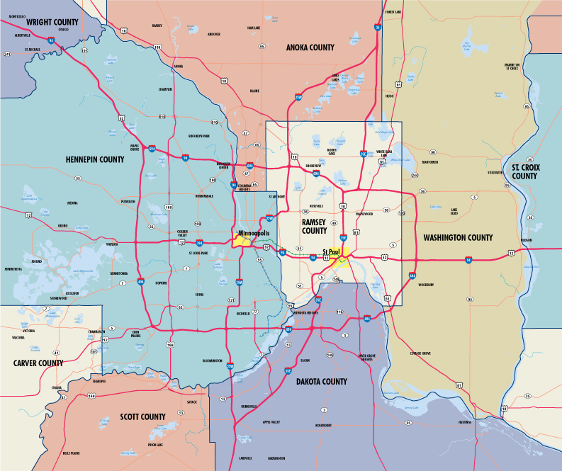 minneapolis-st-paul-county-map - Visit Twin Cities
