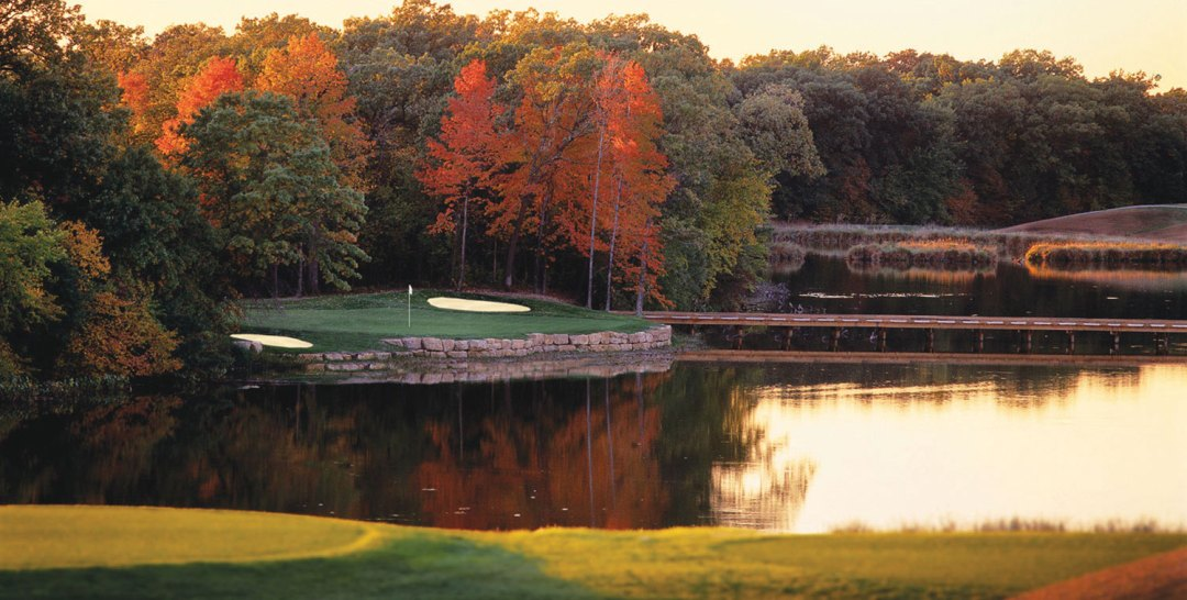 Legends Golf Club in Autumn.