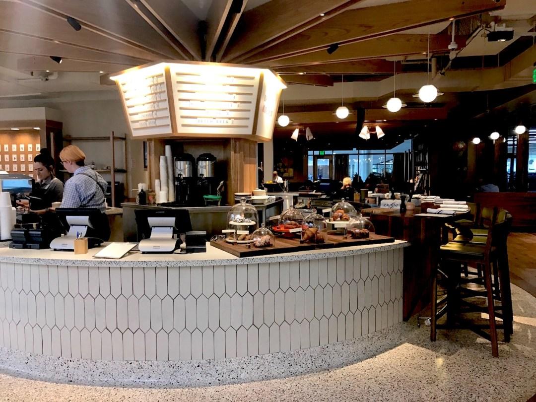 Interior of Barnes & Noble Kitchen