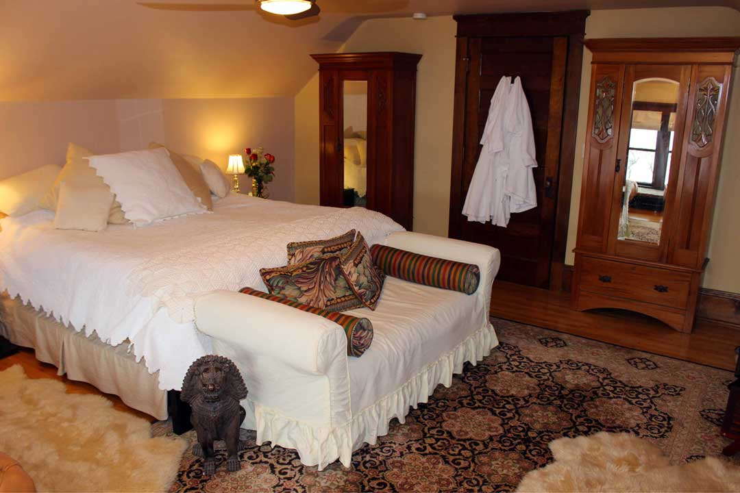 Aerie Suite at Como Lake Bed and Breakfast.