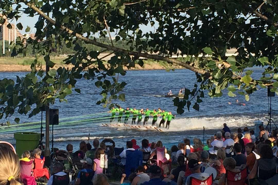 Twin Cities River Rats Aquatennial Water Ski Show.