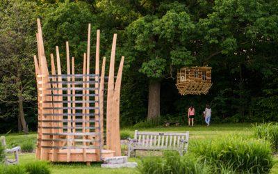Tree Houses at the Minnesota Landscape Arboretum
