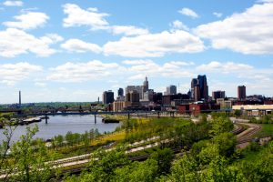 View of downtown St. Paul skyline