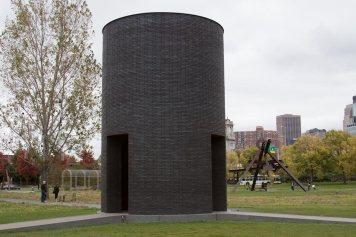 Black Vessel for a Saint at the Minneapolis Sculpture Garden.