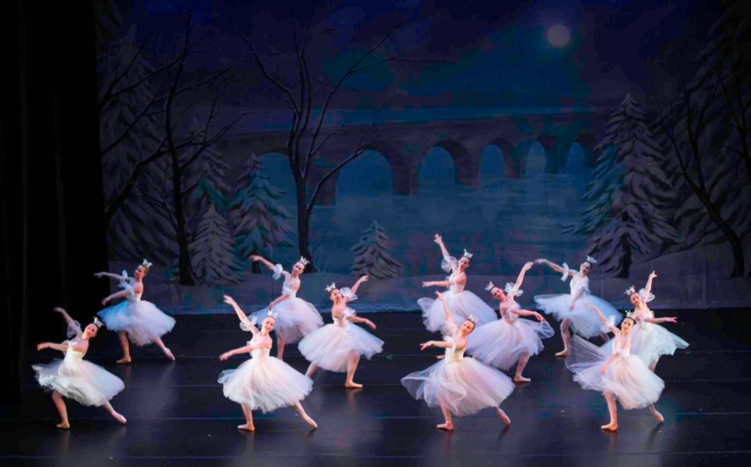 "Photo by Brianne Bland, courtesy of Twin Cities Ballet. Ballerinas take the stage in tutus for the holiday presentation of ""A Minnesota Nutcracker"" by Twin Cities Ballet."