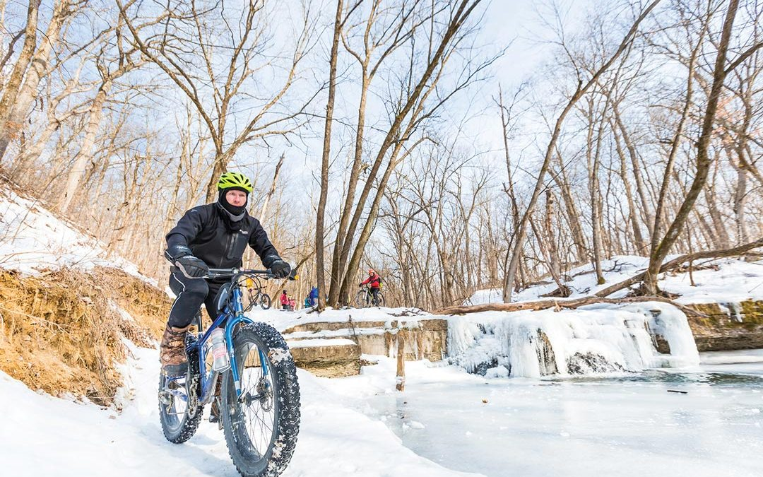 Fat Biking Through Minneapolis and St. Paul