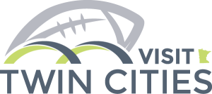 Visit Twin Cities logo variation for Super Bowl LII