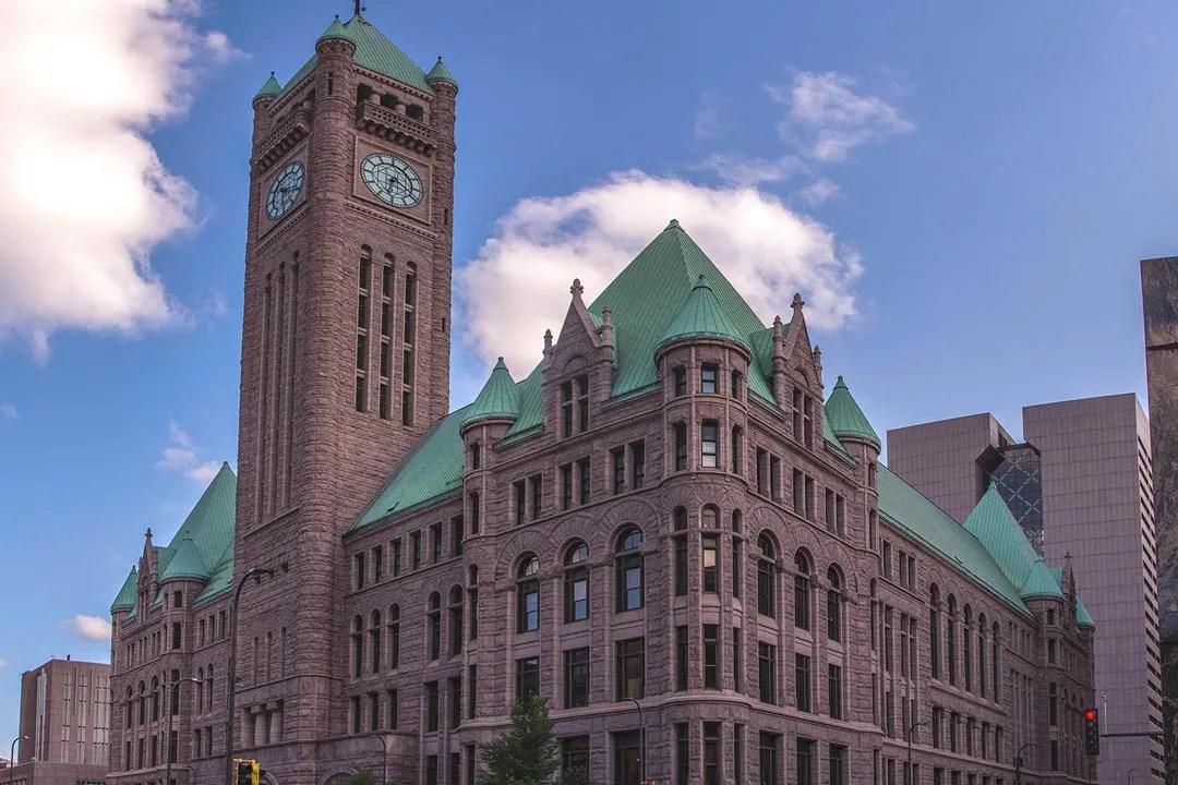 Minneapolis City Hall.