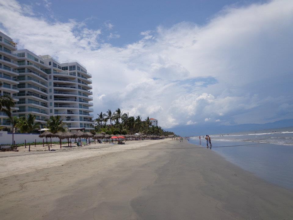 Flamingos Beach in Nuevo Vallarta Mexico