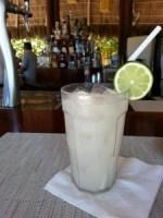 Icy Beverage at Resort in Nuevo Vallarta Mexico