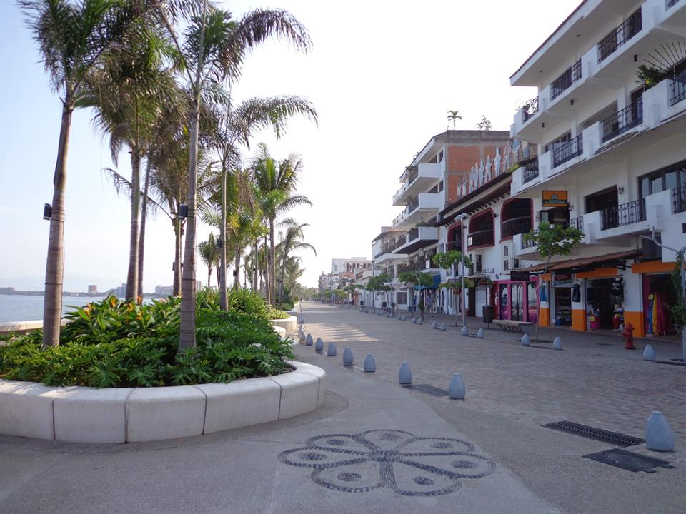 Malecon in Puerto Vallarta, Mexico
