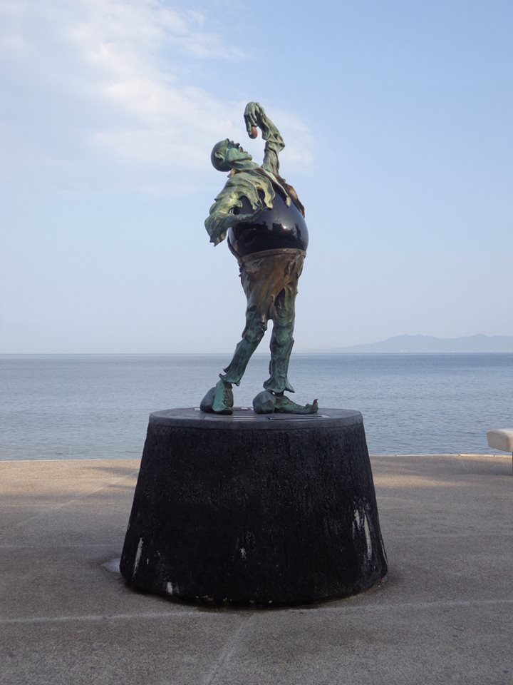 Malecon Statue in Puerto Vallarta, Mexico