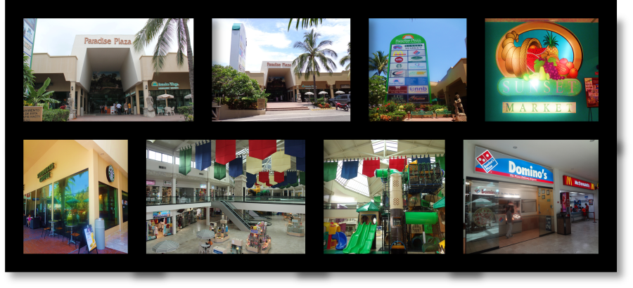 Paradise Plaza Mall in Nuevo Vallarta, Mexico