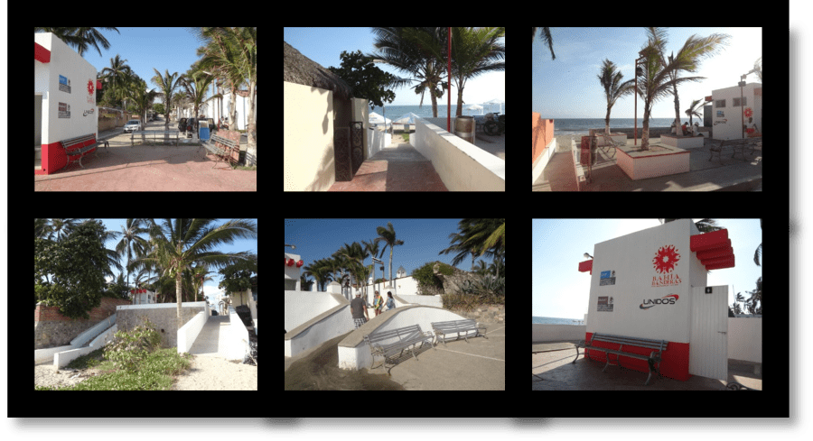 Puerto Vallarta Beaches: Remodeling and modernization of beach access points in Bucerias, Mexico.