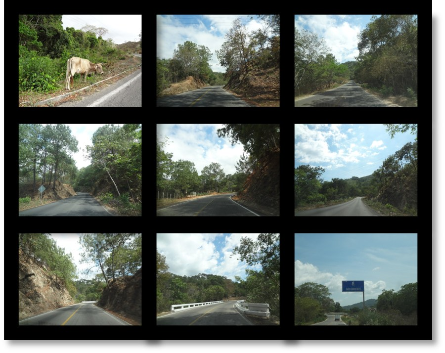 The Drive to El Tuito from the Botanical Gardens in Puerto Vallarta, Mexico