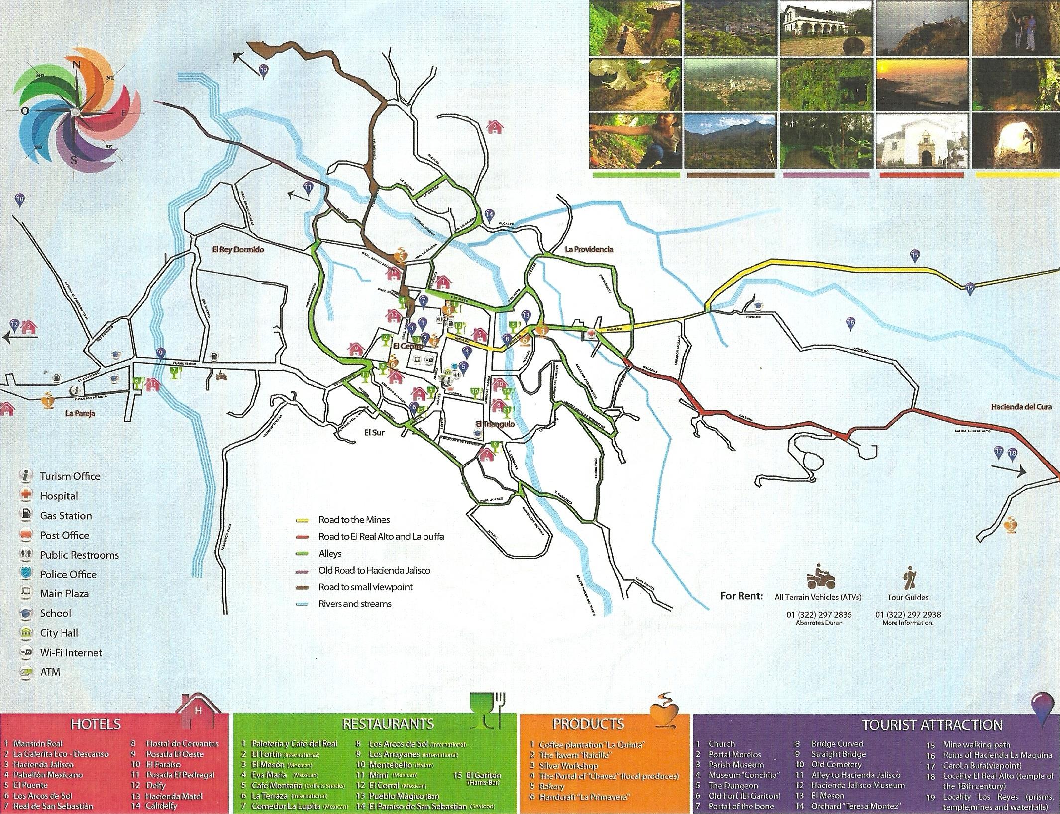 Map Of Spain Showing San Sebastian.San Sebastian Del Oeste Visit Vallarta