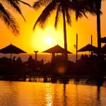 Villa Del Palmar Flamingos - Pool at Sunset