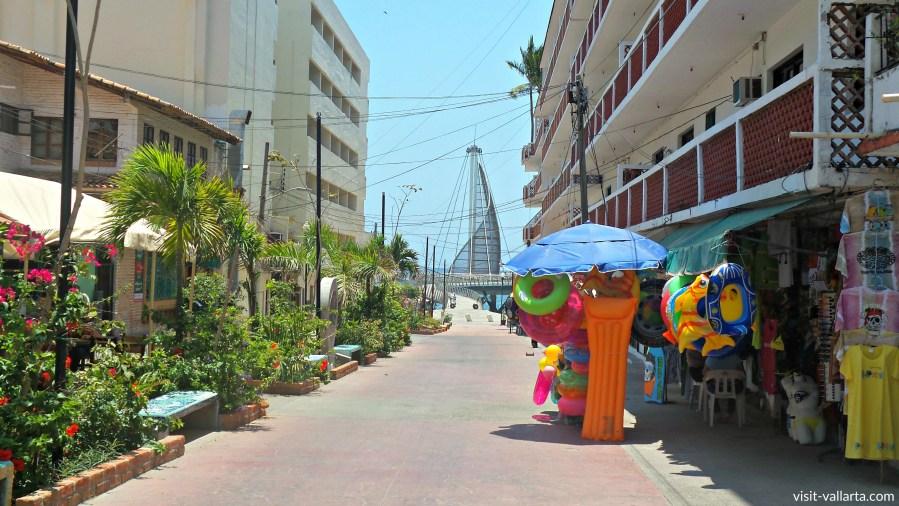 Los Muertos Beach in Puerto Vallarta, Mexico is a great tourist and retirement destination.   www.visit-vallarta.com