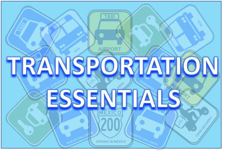 Bus fares, taxi rates, car rentals, bus routes