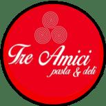 Logo for Tre Amici Restaurant in Nuevo Vallarta
