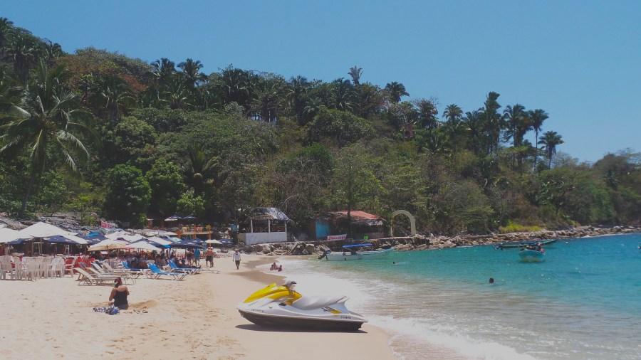 Picture of Mismaloya Beach and beach restaurants