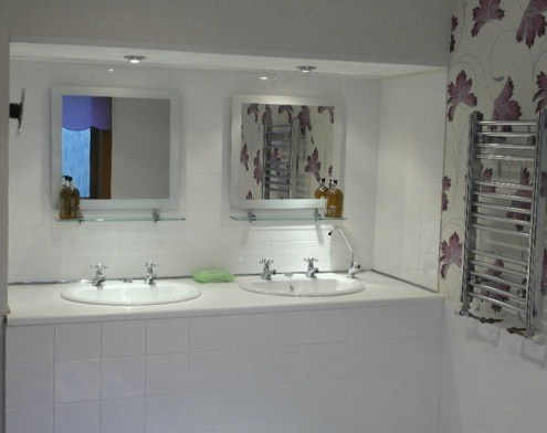 Bathroom facilities in self catering house