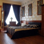 Executive accommodation features large bed