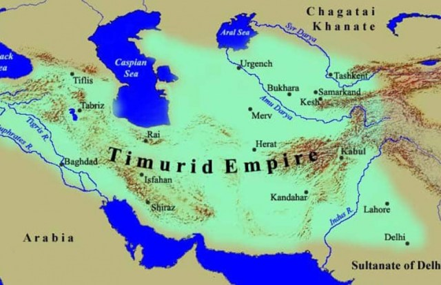 Image result for timurid empire