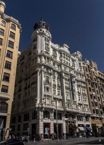 Hotel Atlántico, Gran Via 38, de Joaquín Saldaña y López