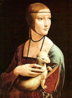 La dama del armiño de Leonardo - La amante del duque