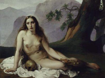 Santa María Magdalena Penitente de Hayez