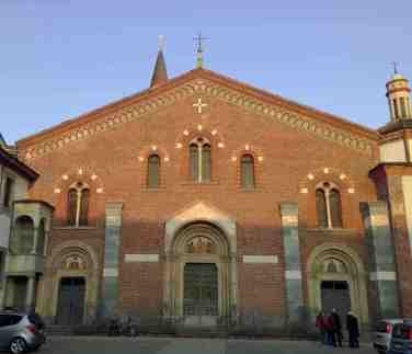 Restos Reyes Magos - Basílica San Eustorgio - Milan