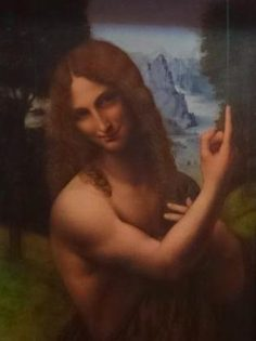 Retrato de San Juan Bautista del Salaino - Visitas guiadas Milán
