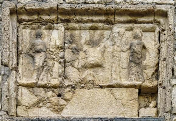 fregio romano Atina Palazzo Ducale
