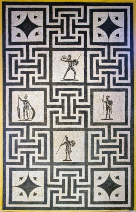 mosaico di atina