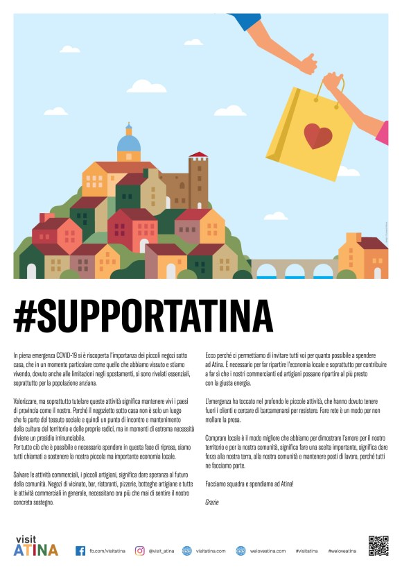 campagna #supportAtina by Giuseppe Massa
