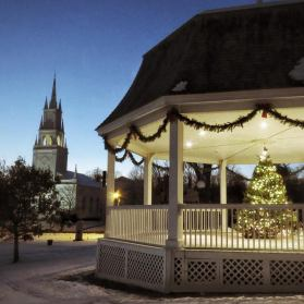 KDB winter gazebo