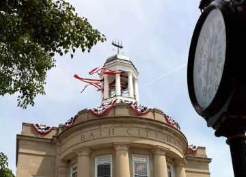 city hall flags